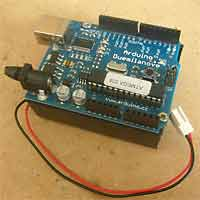Arduino battery box